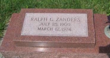 ZANDERS, RALPH G. - Mills County, Iowa | RALPH G. ZANDERS
