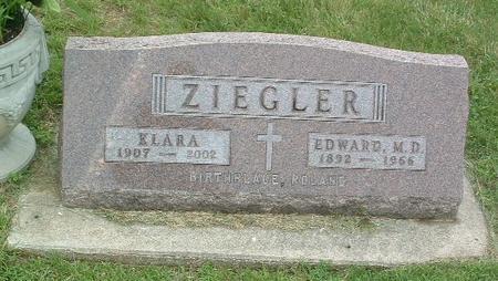 ZIEGLER, EDWARD M.D. - Mills County, Iowa | EDWARD M.D. ZIEGLER