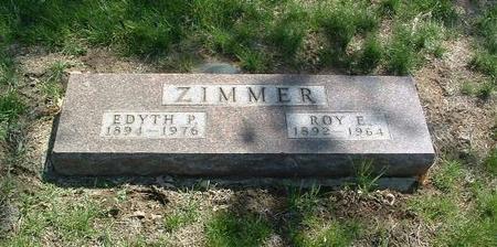 ZIMMER, EDYTH P. - Mills County, Iowa | EDYTH P. ZIMMER
