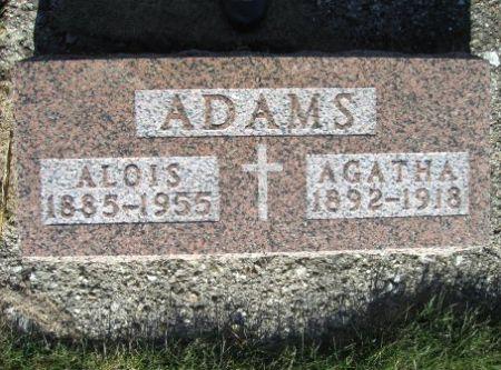 ADAMS, AGATHA - Mitchell County, Iowa | AGATHA ADAMS