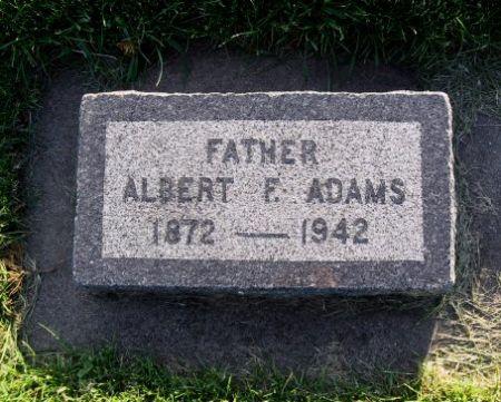 ADAMS, ALBERT F. - Mitchell County, Iowa | ALBERT F. ADAMS