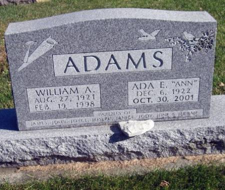 ADAMS, ADA E.