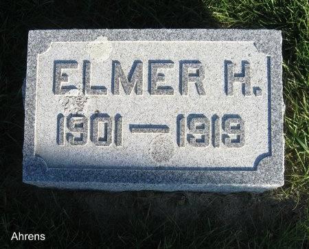 AHRENS, ELMER H. - Mitchell County, Iowa | ELMER H. AHRENS