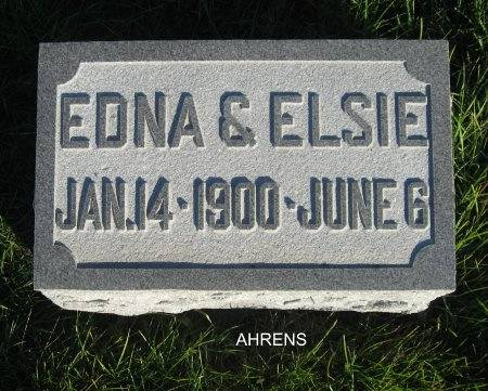 AHRENS, ELSIE - Mitchell County, Iowa | ELSIE AHRENS