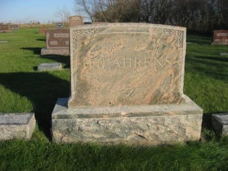 AHRENS, HERMAN JOHN (FAMILYSTONE) - Mitchell County, Iowa | HERMAN JOHN (FAMILYSTONE) AHRENS