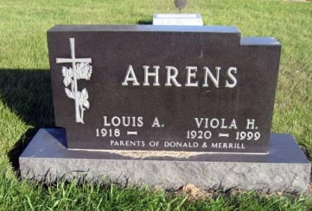 SCHUTTLER AHRENS, VIOLA H. - Mitchell County, Iowa | VIOLA H. SCHUTTLER AHRENS