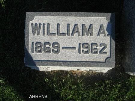 AHRENS, WILLIAM A. - Mitchell County, Iowa | WILLIAM A. AHRENS