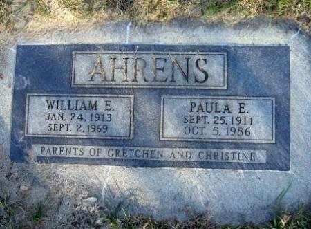 AHRENS, PAULA E. - Mitchell County, Iowa | PAULA E. AHRENS