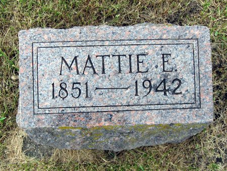 ALCHON, MATTIE E. - Mitchell County, Iowa | MATTIE E. ALCHON