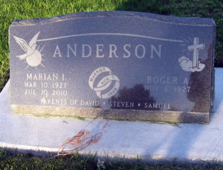 ANDERSON, MARIAN I. - Mitchell County, Iowa | MARIAN I. ANDERSON