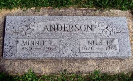 ANDERSON, MINNIE LOUISE - Mitchell County, Iowa | MINNIE LOUISE ANDERSON