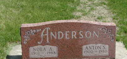 ANDERSON, NORA A. - Mitchell County, Iowa | NORA A. ANDERSON