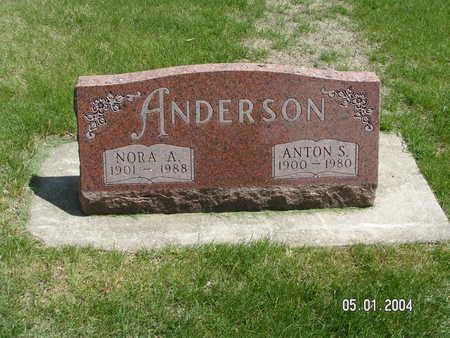 GORDON ANDERSON, NORA A. - Mitchell County, Iowa | NORA A. GORDON ANDERSON