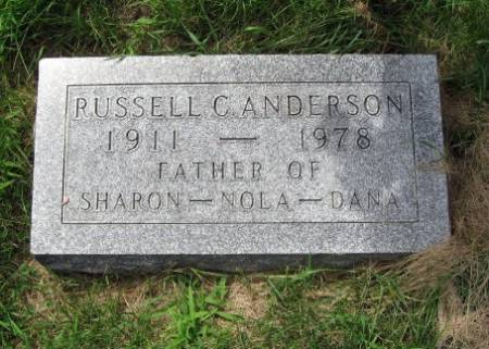 ANDERSON, RUSSELL C. - Mitchell County, Iowa | RUSSELL C. ANDERSON