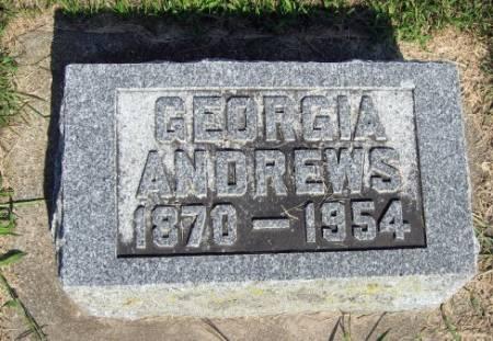 ANDREWS, GEORGIA - Mitchell County, Iowa | GEORGIA ANDREWS