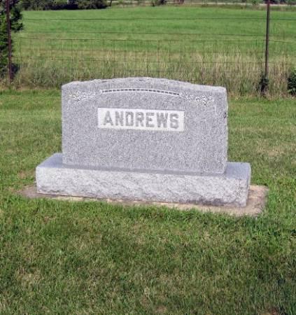 ANDREWS, LINZY (FAMILYSTONE) - Mitchell County, Iowa   LINZY (FAMILYSTONE) ANDREWS
