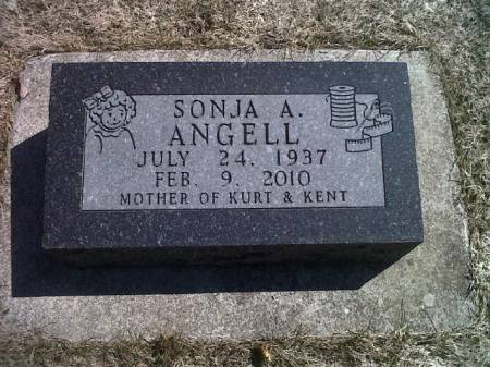 ANGELL, SONJA A. - Mitchell County, Iowa   SONJA A. ANGELL