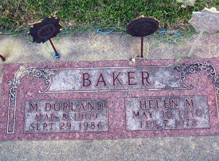 BAKER, MAURICE DORLAND - Mitchell County, Iowa | MAURICE DORLAND BAKER
