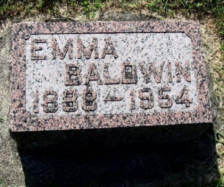 BALDWIN, EMMA - Mitchell County, Iowa | EMMA BALDWIN
