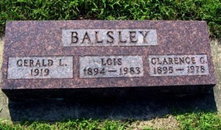 BALSLEY, GERALD L. - Mitchell County, Iowa | GERALD L. BALSLEY