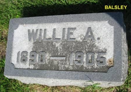 BALSLEY, WILLIE A. - Mitchell County, Iowa | WILLIE A. BALSLEY