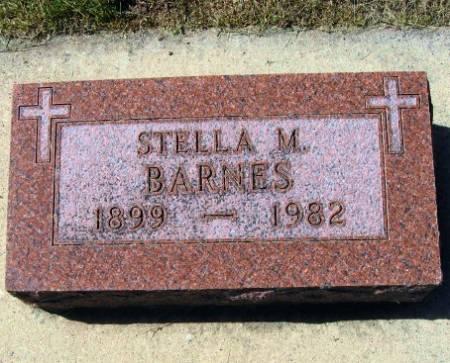 BARNES, STELLA M. - Mitchell County, Iowa | STELLA M. BARNES