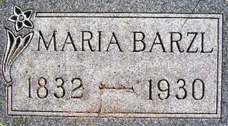 BARZL, MARIA - Mitchell County, Iowa | MARIA BARZL