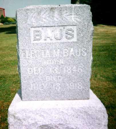 BAUS, ELECTA M. - Mitchell County, Iowa | ELECTA M. BAUS