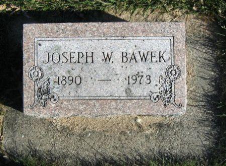 BAWEK, JOSEPH W. - Mitchell County, Iowa | JOSEPH W. BAWEK