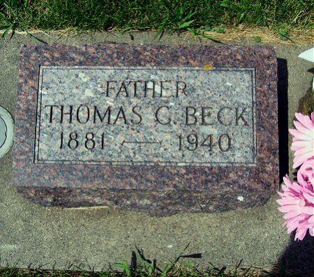BECK, THOMAS C. - Mitchell County, Iowa | THOMAS C. BECK