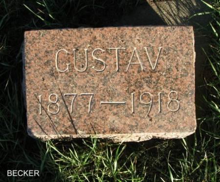 BECKER, GUSTAV - Mitchell County, Iowa | GUSTAV BECKER