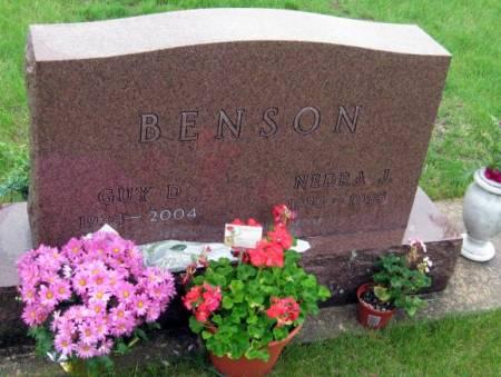 BENSON, GUY D. - Mitchell County, Iowa | GUY D. BENSON