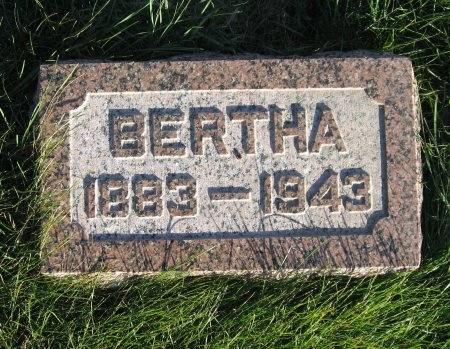 BERGES, BERTHA - Mitchell County, Iowa | BERTHA BERGES