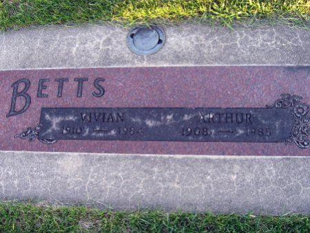 BETTS, VIVIAN - Mitchell County, Iowa   VIVIAN BETTS
