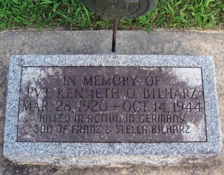 BILHARZ, KENNETH O. - Mitchell County, Iowa   KENNETH O. BILHARZ