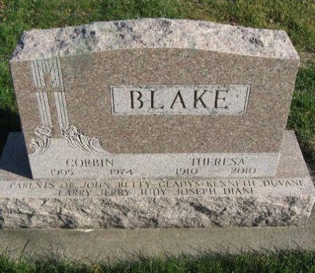 BLAKE, CORBIN - Mitchell County, Iowa   CORBIN BLAKE