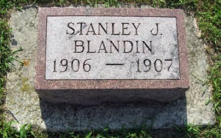 BLANDIN, STANLEY JEROME - Mitchell County, Iowa | STANLEY JEROME BLANDIN