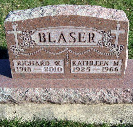 BLASER, KATHLEEN M. - Mitchell County, Iowa | KATHLEEN M. BLASER
