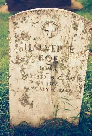 BOE, HALVER E. - Mitchell County, Iowa | HALVER E. BOE