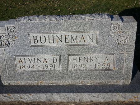 BOHNEMAN, HENRY A. - Mitchell County, Iowa | HENRY A. BOHNEMAN