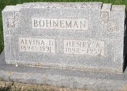 RECKNER BOHNEMAN, ALVINA - Mitchell County, Iowa | ALVINA RECKNER BOHNEMAN