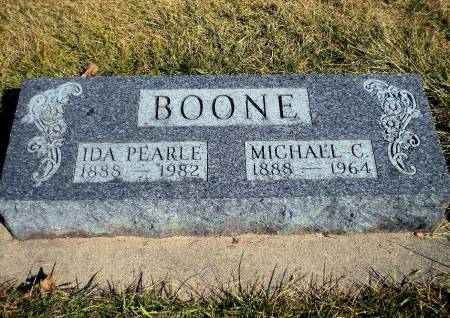 BOONE, MICHAEL C. - Mitchell County, Iowa | MICHAEL C. BOONE