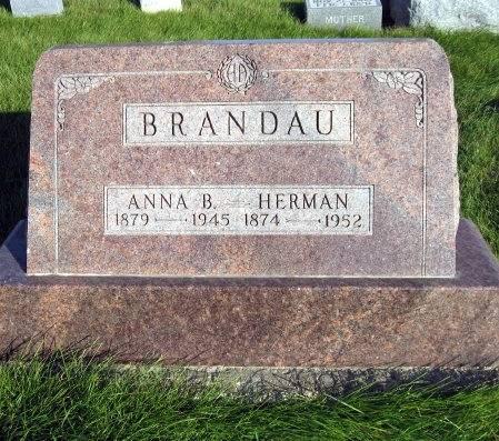 JUNG BRANDAU, ANNA BERTHA - Mitchell County, Iowa | ANNA BERTHA JUNG BRANDAU