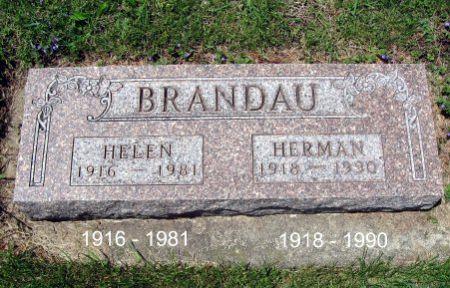 BRANDAU, HELEN - Mitchell County, Iowa | HELEN BRANDAU