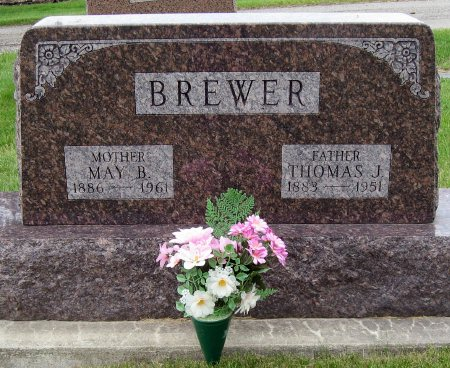 BREWER, THOMAS J. - Mitchell County, Iowa | THOMAS J. BREWER