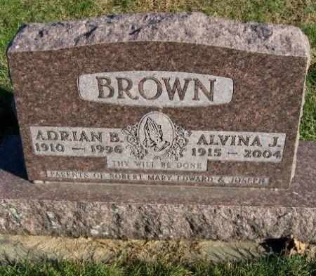 BROWN, ADRIAN B. - Mitchell County, Iowa   ADRIAN B. BROWN