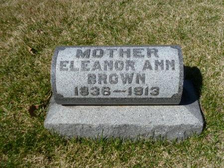 BROWN, ELEANOR ANN - Mitchell County, Iowa | ELEANOR ANN BROWN