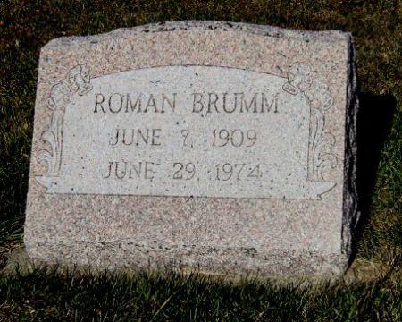 BRUMM, ROMAN - Mitchell County, Iowa   ROMAN BRUMM