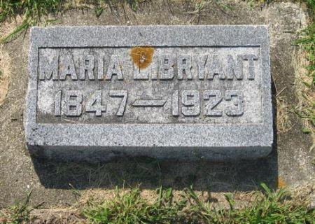 BRYANT, MARIA L. - Mitchell County, Iowa   MARIA L. BRYANT