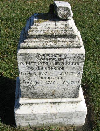 BUHR, MARY - Mitchell County, Iowa | MARY BUHR